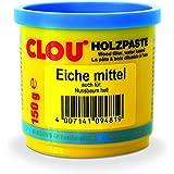 Clou Houtpasta voor het repareren en uitsnijden van houtschade eiken medium, 150 g: gebruiksklare pasta geschikt voor het hel