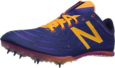 new balance Women's Athletic Track Spike Shoes Lime/Orange 5.5 B(M) US