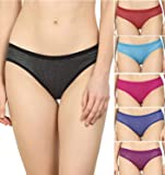 Supreme Bazaar Women Polka Dots Hipster Multicolor Panties Combo -100% Cotton (Pack of 6)