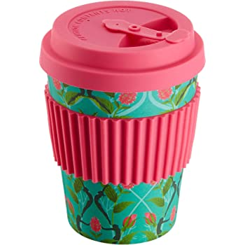 Pukka Eco-Friendly Bamboo Travel Mug, Mint Refresh Design