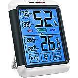 ThermoPro TP55 Termómetro Higrómetro de Interior para Casa Ambiente Medidor de Temperatura y Humedad Digital Termohigrómetro