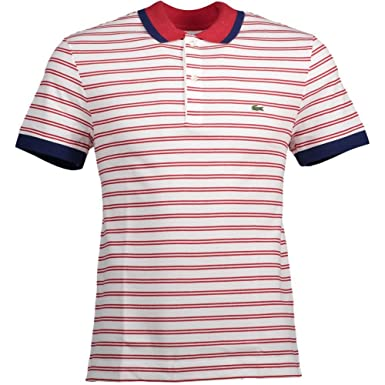 Polo Shirt Lacoste PH3228 Red M Red