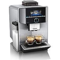 Siemens EQ.9 plus connect s500 Kaffeevollautomat TI9558X1DE, automatische Reinigung, Personalisierung, extra leise, 1…