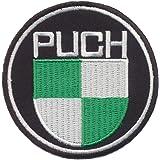 Copytec Patch Aufnäher Puch Werke Motorsport Motorrad Mofa Österreich Oldtimer Kult Fan Abzeichen Emblem 20025 Küche Haushalt