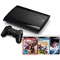 Sony PlayStation 3 (12 GB) inklusive Beyond: Two Souls + Little Big Planet 3 + Uncharted 3: Drake's Deception (ESN)