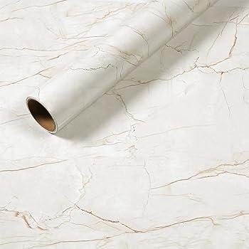 Kinlo adesivi carta per mobili 0 6m 5m 1 rotolo bianco for Decorazioni autoadesive per mobili