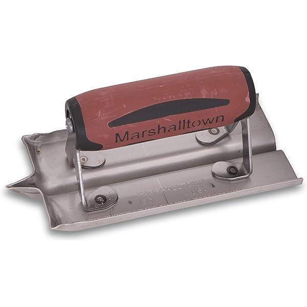 f/ür Boden und Beton aus Magnesium Gr/össe des Gl/ätters: 406x79 mm Marshalltown Handgl/ätter mit Holzgriff
