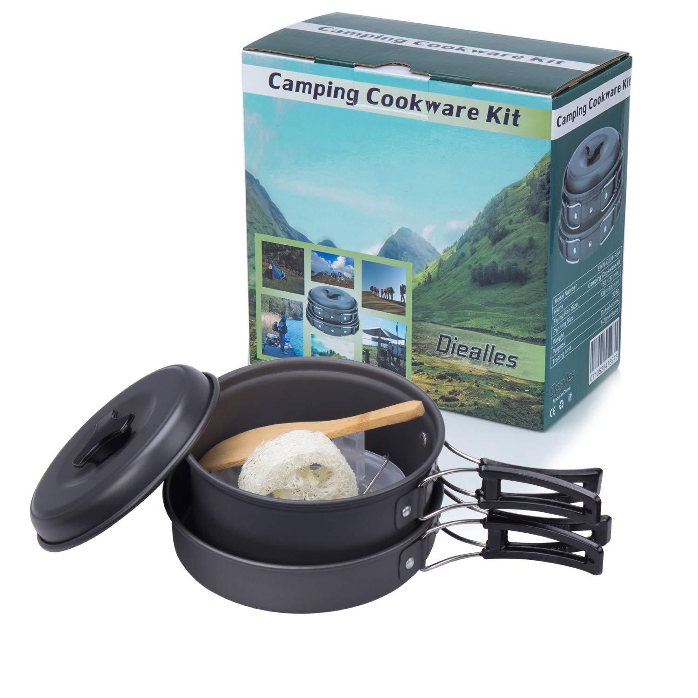 Diealles Utensilios Cocina Camping Set Cocina Camping para Excursión Style 1