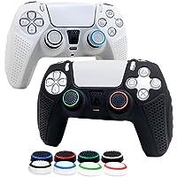 6amlifestyle Cover Skin Controller PS5 in Silicone Antiscivolo, Grip Protector per Controller Playstation 5 Dualsense…