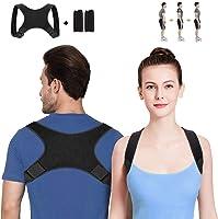WOTEK Geradehalter zur Haltungskorrektur Rückenstütze Rückenbandage Haltungstrainer Haltungskorrektur Rücken Damen und...