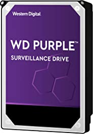 WESTERN DIGITAL 4TB Hard Drive for CCTV Surveillance, Purple