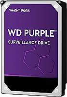 WD WD10PURZ Hard Diski 1 TB Güvenlik Kamerası 5400 RPM SATA 6 Gb/s 64MB Cache 3.5'', Mor