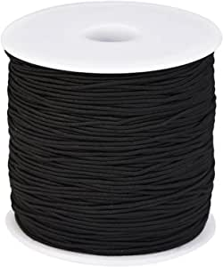 Shirring Elastico Nero Bianco