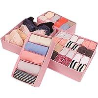 CASATOCA boîte de rangement pour sous-vêtements pliable, organisateur de tiroir, coffre de rangement pour armoire, pour…