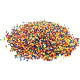 3000 حبة كريستال مياه لينة ملونة للعب كرات الطلاء، الحبة على شكل لؤلؤة كرات الجيلي السحرية تنمو في المياة او التربة المبللة (