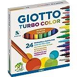 Giotto Turbo Color Rotuladores, Estuche 24 Uds.