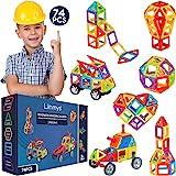 Limmys Bloques de construcción magnéticos Serie única de Viajes Juguetes de construcción para niños y niñas - El Juguete Educ