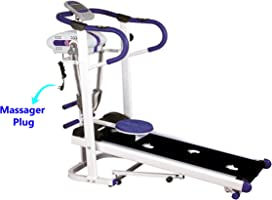 Skyland, 4 in 1 Magnetic Foldable Flat Walker Treadmill - EM-1301