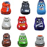 Disney Pixar Cars Deluxe Playset, 9 Pc., Detailed Car Figures including Lightning McQueen, Jackson Storm and more, Disney Sto