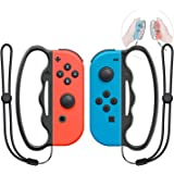 MENEEA Grip da Boxe per Nintendo Switch Joy-con Fitness Boxing Game, Fit Boxing Clasp Accessori Maniglia per Adulti e Bambini