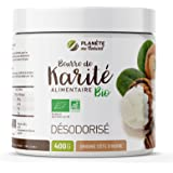 Beurre de Karité Bio AB 400 g - Qualité Alimentaire - 100% végétal - Désodorisé