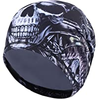 TAGVO Cycling Skull cap, Sport Headwear Beanie Hats con Copri Orecchie Antivento Helmet Liner per Adulti Uomini e Donne…