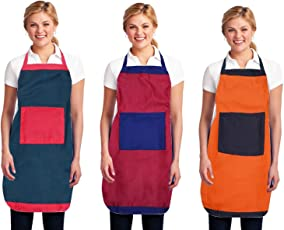 Yazlyn Collection Waterproof Apron Combo with Front Pockets