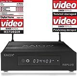 Xaiox R9 Plus - 4k Android Mediaplayer mit Display und Festplatten Schacht (HDMI, MKV, USB, LAN, WLAN) H.264 H.265 [BD…
