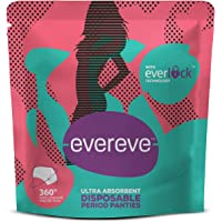 EverEve Ultra Absorbent Disposable Period Panties, for Sanitary Protection & Menstrual Hygiene, S-M (2 Count)