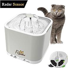 Flightbird 1.5m Radar Sensing Automatischer Trinkbrunnen für Katzen und Hunde