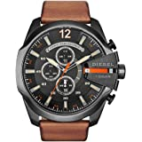 ساعة كوارتز للرجال من ديزل، مع شاشة عرض انالوج وسوار من الستانلس ستيل، طراز DZ4329
