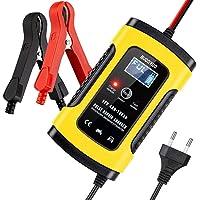 BUDDYGO Chargeur de Batterie, Booster Voiture Intelligent Portable, Chargeur de Batterie Moto/Voiture avec Protections…