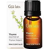 Olio essenziale di timo - Alito fresco di sollievo calmante per difficoltà respiratorie (10 ml) - Olio di timo di grado terap