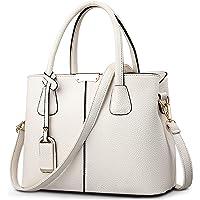 VARLIVOO Elegant Damen Handtasche Schultertasche Frauen Umhängetasche Taschen Shopper Wasserdicht Kunstleder…