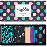 Happy Socks Holiday Big Dot Gift Box Calcetines (Pack de 4) para Hombre