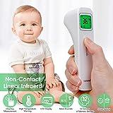 5-10 Versandtage, versand aus deutschland Infrarot Digitalf/ür Kinder,Baby,Erwachsenen mit LCD Display Hintergrundbeleuchtung Temperaturpistole Non Contact
