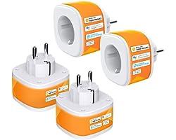 HomeKit WiFi-stopcontact, Refoss Smart Plug, compatibel met Siri, Alexa, Google Assistant, spraakbesturing en tijdschema, 2,4