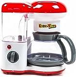 Kaffeemaschine, Wasser läuft durch, Betriebsleuchte aktiv, Batteriebetrieb, Größeca.18 x20 x12cm