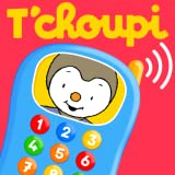 T choupi - play with the phone