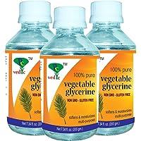 Pc vedic vegetable glycerine (non gmo-gluten free) (PACK OF 3 * 200GM)