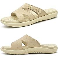 KuaiLu Womens Fashion Orthotic Slides Ladies Lightweight Athletic Yoga Mat Sandals Slip On Thick Cushion Slippers…