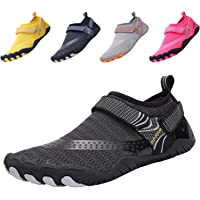 funmoon Barefoot Water Shoes Mens Womens Quick Dry Aqua Shoes Unisex Swimming Shoes for Men, Beach, Diving, Surfing…