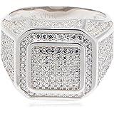 خاتم من الفضة الاسترلينية للرجال من عتيق