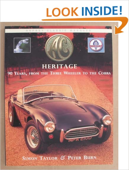 AC Heritage (Osprey Classic Marques)