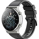 Keweni Cinturino Compatibile con Huawei Watch GT2 Pro, Cinturino di Ricambio in Silicone 22mm per Honor Watch Magic / Honor G