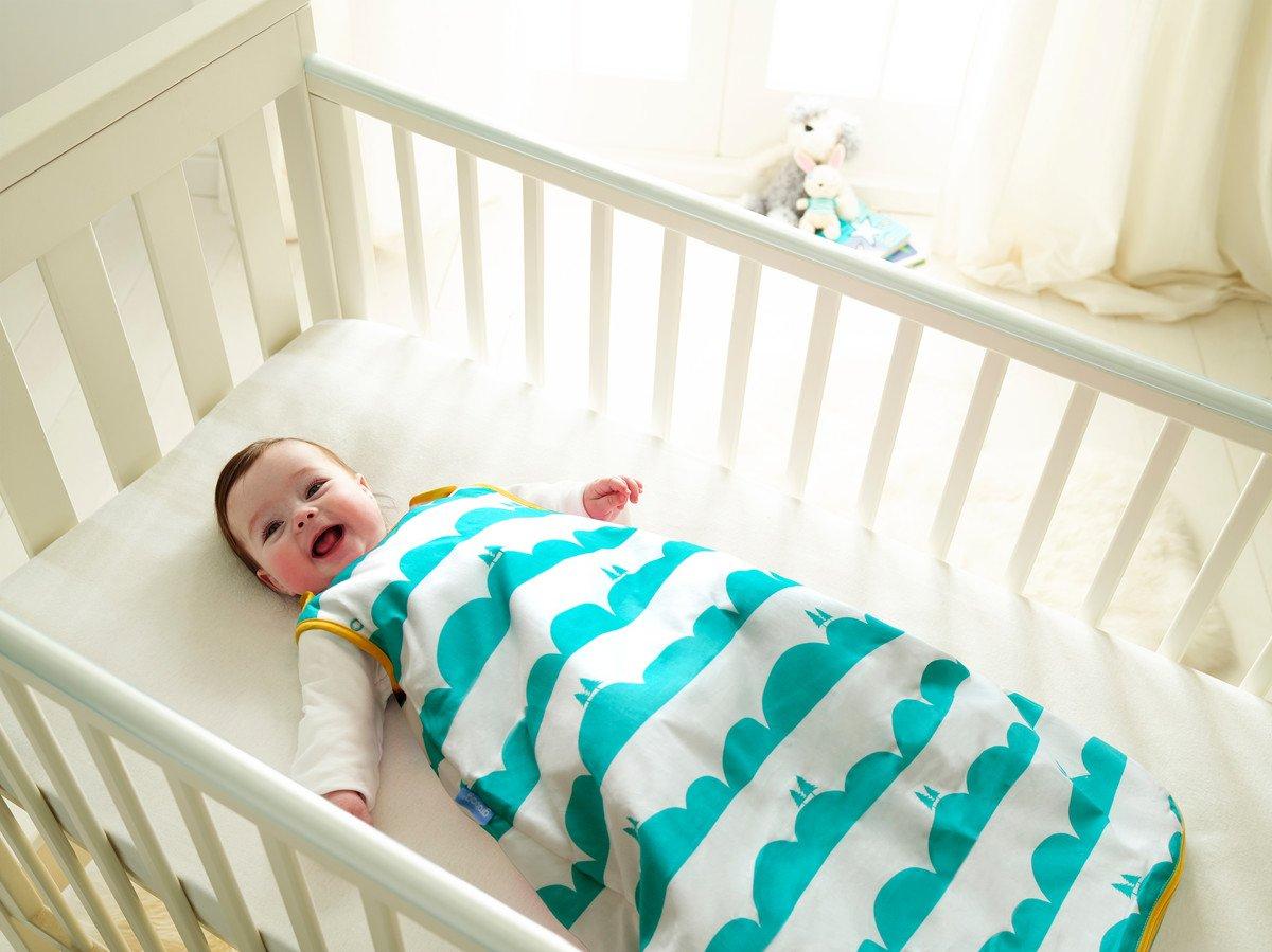Anorak Grobag Saco de dormir para bebé con diseño de colinas, 2,5 tog, edades entre 0 y 6 meses
