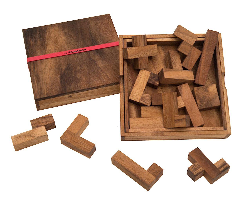 ROMBOL-Spiel-des-Lebens-edles-Denkspiel-fr-langanhaltenden-Spielspa-mit-praktischem-Verschlussband