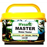 IndieFur Lifesonic Master Test Kit for Aquarium 100 Tests pH Ammonia Nitrite Nitrate - Expiry 2023