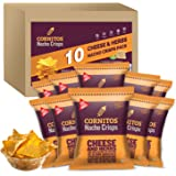 Cornitos Cheese and Herbs Nacho Crisps 60g, Pack of 10, x 60 g