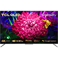 TCL 50C715 QLED Fernseher 127 cm (50 Zoll) Smart TV (4K Ultra HD, HDR 10+, Dolby Vision Atmos, Triple Tuner, Android TV…